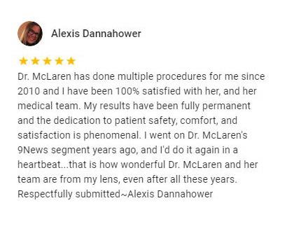 Alexis Dannahower Testimonial